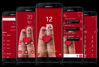 finger love red