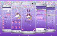 magical unicorn purple
