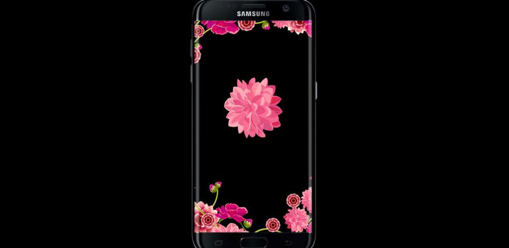 flowers dark wallpaper