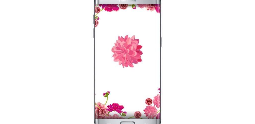 flowers light wallpaper