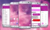 iNougat 10 Dark Pink Light