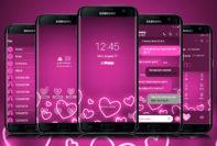 Neon Valentines Pink