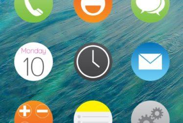 iNougat 10 Rounded Icons