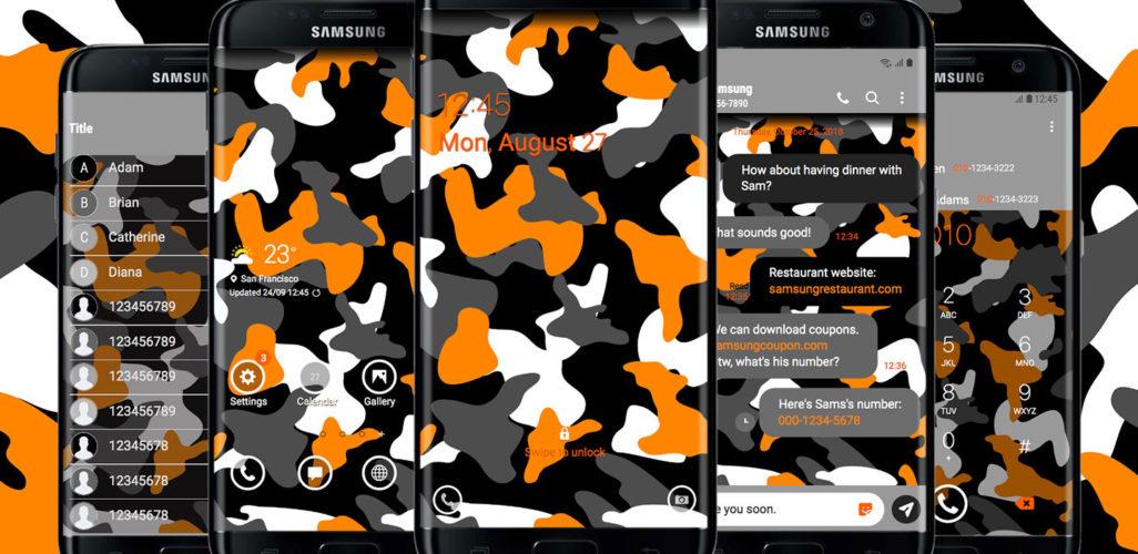 Camouflage Light Orange