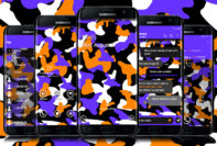 Camouflage Purple and Orange