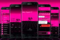 Digital Beach Pink