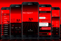 Digital Beach Red