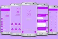 Light Purple Neon
