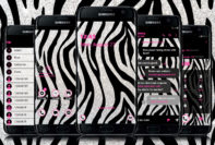 Zebra Glitter